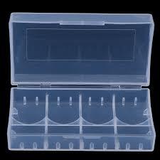 <b>3Pcs Plastic Battery</b> Case Holder <b>Storage</b> Box For 18650 CR123A ...