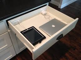 charging station for electronics kitchen contemporary with plug in drawer electronics storage charging station kitchen central office