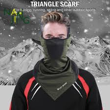 <b>Cycling</b> Face <b>Mask</b> Windproof <b>Warm</b> Triangle <b>Neck</b> Tube Scarf ...