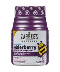 Zarbee's Naturals <b>Children's Elderberry Immune Support</b> Natural ...