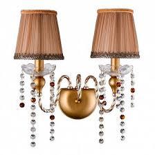 <b>Бра Crystal Lux ALEGRIA</b> AP2 GOLD-BROWN Купить в ...