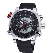 JSHE <b>Weide</b> Luxury Brand Military Army Diver Men's <b>Sport</b> Silicone ...