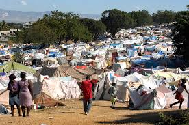 effective aid   harvard international reviewharvard international    as many as     haitians slept in this earthquake survivor camp in the del mas area
