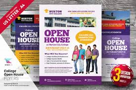 college open house flyer templates flyer templates on creative college open house flyer templates flyer templates on creative market