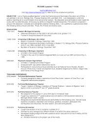 objective for teaching resume com objective for teaching resume to get ideas how to make interesting resume 20