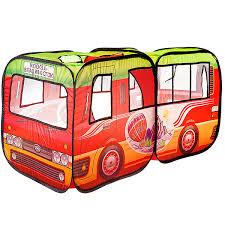 Игровой <b>домик YAKO</b> серия <b>Солнечное</b> лето, <b>палатка</b>-автобус ...