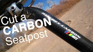 Cut a Carbon or <b>Alloy</b> Bicycle Seatpost or <b>Handlebar</b> - How To ...