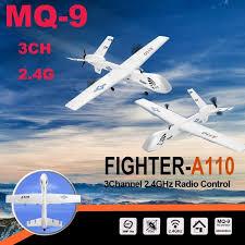 Original <b>WLtoys XK A110</b> 2.4G 565mm 3CH 2.4G Predator MQ-9 RC ...