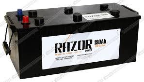 <b>Грузовой</b> аккумулятор <b>Razor</b> 6СТ-190.4 (Конус): купить