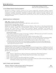 customer service manager resume description experience resumes customer service manager resume description