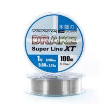 <b>Леска Yoshi Onyx Drake</b> Superline XT Clear 100м
