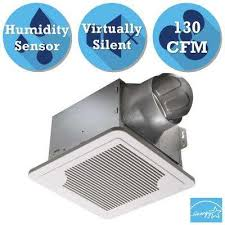 sensing bathroom fan quiet: smart series  cfm ceiling exhaust bath fan with adjustable humidity sensor and speed control