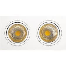 <b>Встраиваемый светодиодный светильник Horoz</b> 2X10W 2700К ...