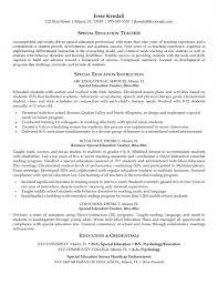 best special education teacher resume   resume template exampleresume template for educators special education teaching resume resume sample