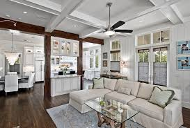 caged ceiling fan family room traditional with area rug blue and brown ceiling fan baseboards ceiling fan