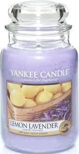 """<b>Ароматическая свеча</b> Yankee Candle """"Лимон и лаванда / <b>Lemon</b> ..."""