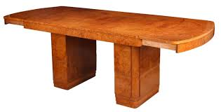 art deco extending dining table art deco dining table high