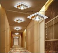 cheap 3 watt led ceiling light fixture crystal glass ceiling lamp for hallway corridor aisle led best lighting for hallways
