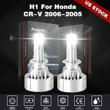 <b>Power</b> Combo H1 LED Headlight Bulbs <b>48000LM Light</b> Kit For ...