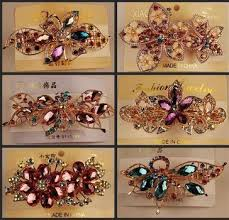 2015 <b>Crystal Rhinestones Hairpin</b> Hair clip hair barrette <b>fashion</b> Hair ...