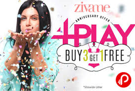 Image result for zivame buy 3 get 1 free