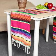 14x84'' <b>Mexican</b> Table Runner Serape Tablecloth Wedding Eid ...