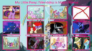 My Little Pony Controversy Meme (by DR) by DarknessRissing on ... via Relatably.com