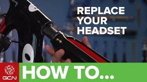 How To Change Your <b>Road Bike Headset</b> and Forks - YouTube