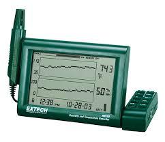 RH520A: <b>Humidity</b>+<b>Temperature</b> Chart <b>Recorder</b> with Detachable ...