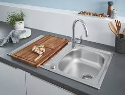 Комплект <b>Grohe</b> Bau 31562SD0 <b>Мойка кухонная K200</b> 31552SD0 ...
