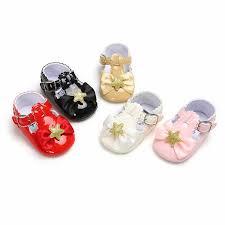 2019 Star <b>Bowknot</b> Baby <b>Shoes Princess</b> Baby <b>Girl Shoes</b> Infant ...