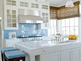 tile kitchen backsplash blue bede