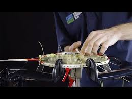 <b>Professional badminton racket</b> stringing in 10 steps - YouTube