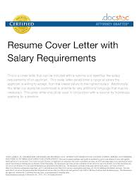Resume Cover Letter Samples With Salary Requirements For Cover ... resume cover letter with salary requirements receptionist resume salary s lewesmr leading professional customer service representative