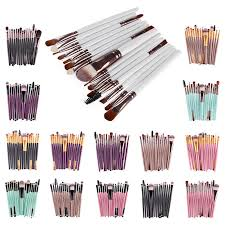 <b>Portable 20Pcs</b> Makeup Brushes <b>Set</b> Powder Blush Foundation ...