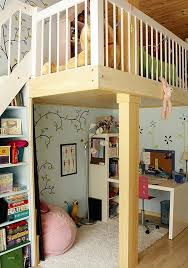 view in gallery kids loft bed with study desk and play area underneath bunk bed home office energy