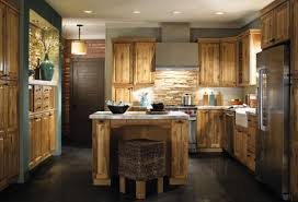 Walnut Floor Kitchen Beige Walnut L Shape Cabinet Design Kitchen Ideas With Dark