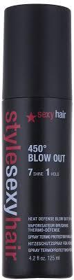 <b>Термозащитный спрей</b> нормальной фиксации - <b>SexyHair</b> ...