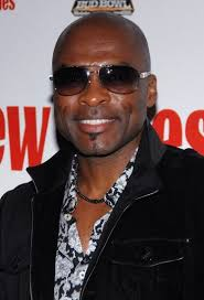 Reggie Sanders pictured at Super Bowl Block Party hosted by Sean 'Diddy' Combs at - superbowlHD008403