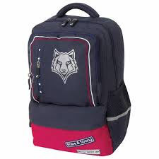 <b>Рюкзак BRAUBERG STAR</b>, Wolf, синий, 40х29х13 см, 228832 в ...