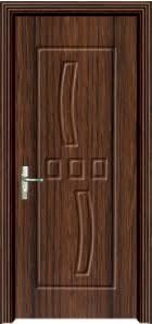 China <b>Hot Sale High</b> Hotel Quality PVC Wooden Door Sw-077 ...