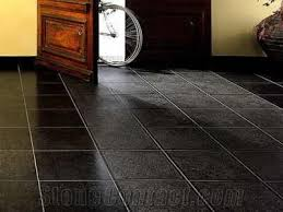 Modern Black Slate Floor Tiles And Innovation Design