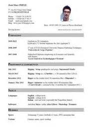 curriculum vitae english format   example good resume templatecurriculum vitae english format
