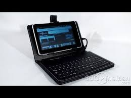 #1223 - Hard <b>Case with Keyboard</b> for 7″ and 10.2″ <b>Tablets</b> Video ...