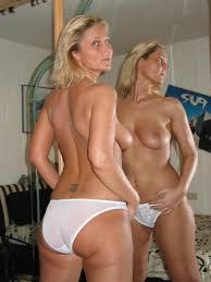 Milf Underwear Porn milf underwear porn Pretty wailing in pretty dresses feeling each other up in their white
