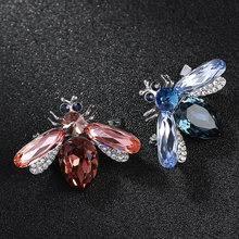 blue zircon <b>brooch</b>
