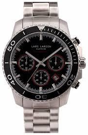 Наручные <b>часы Lars Larsen</b> 134SCSB — сколько стоит? Выбрать ...