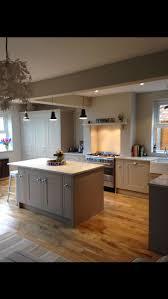 kitchen worktops ideas worktop full: howdens tewksbury island worktop inset range full height cupboards