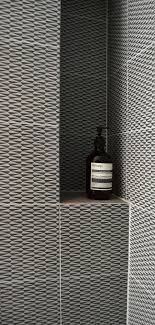 bathroom tile ideas tiling natural wallpaper: monochrome patterned tiles add personality to this bathroom space team