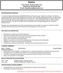 dental nurse assistant cv example   job seekers forumsgood luck